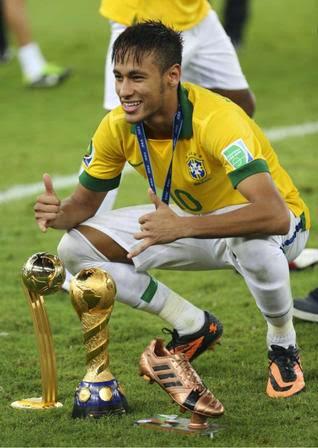 neymar jr 10 trikot das spiel trikot brasil confederations. Black Bedroom Furniture Sets. Home Design Ideas