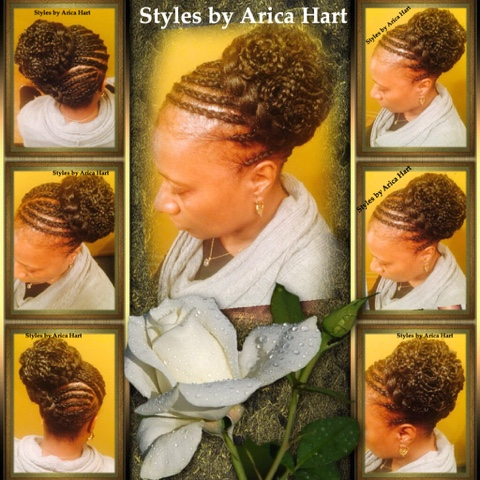 Braid, pincurl, black hair style, protextive styles