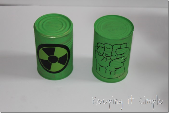 #ad Avengers-Halloween-Party-Game-Bowling-Cans #AvengersUnite (9)