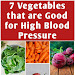 7 Vegetables that are Good for High Blood Pressure