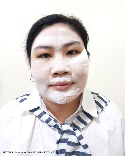 Review Althea Korea's Milk Peel Cream Mask