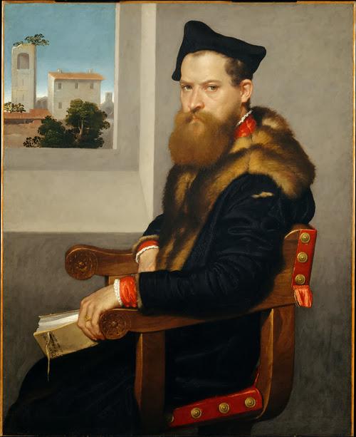 Giovanni Batista Moroni - Portrait of Canon Bartolomeo Bonghi