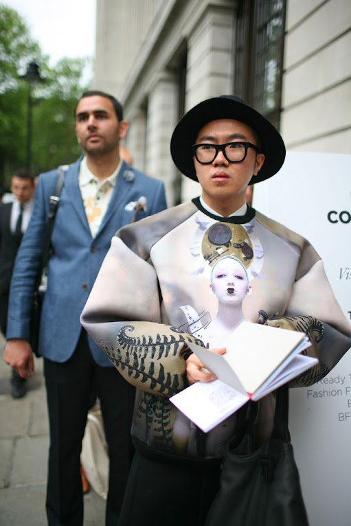 *英國倫敦時裝周場外街拍:攝影師Kuba Dabrowski捕捉街頭英倫紳士! 2