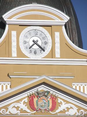 Reloj de numeros al reves