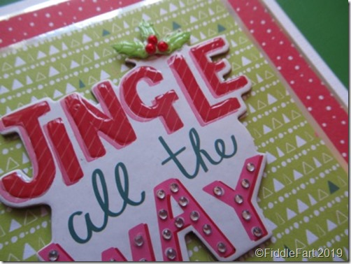 Jingle All The Way Card .....