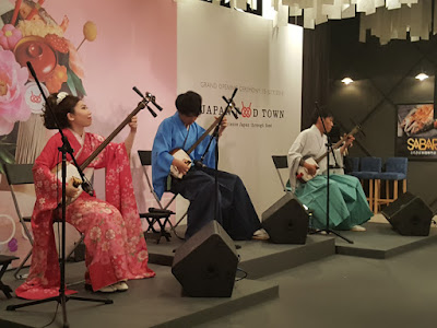 Hayate performed twice during the media preview.