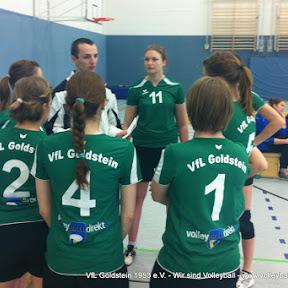 Saison 2011/ 12 Letzter Spieltag unserer Damen - Punkte sammeln