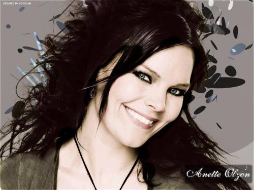 Anette Olzon Smile, Gothic Girls
