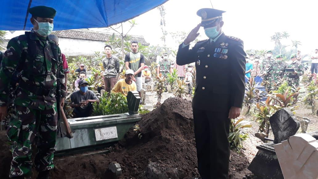 Keluarga Besar Kodim 0820/Probolinggo Berduka
