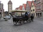Και μια άμαξα στο Rothenburg ob der Tauber