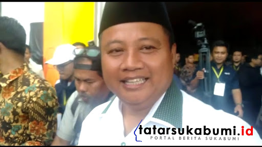 Wakil Gubenur Jawa baratUu Ruzhanul Ulum// Foto : Isep Panji