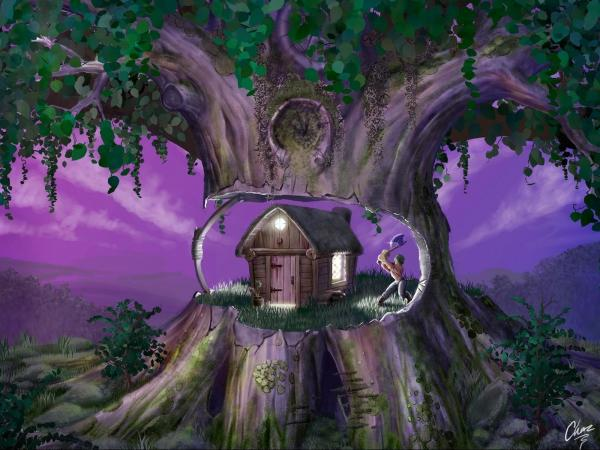 House Into The Tree, Magick Lands 1