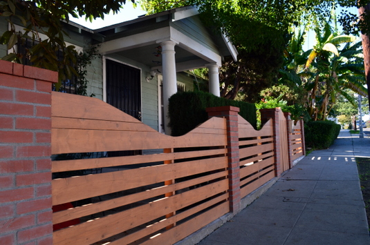 A New Wave Of Horizontal Fencing The Eastsider LA