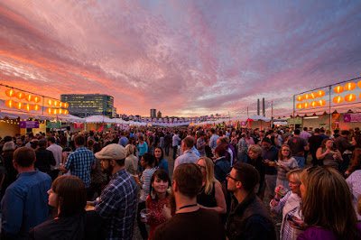Photo by Brooke Bass, Night Market 2015, courtesy of Feast