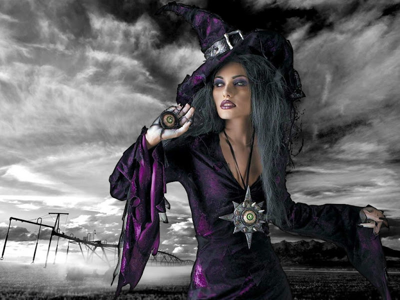 Dark Wicca Violette, Black Magic