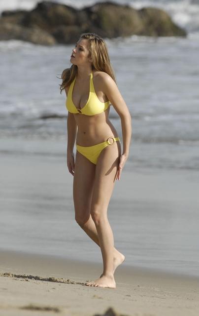 Keeley hazell topless beach think