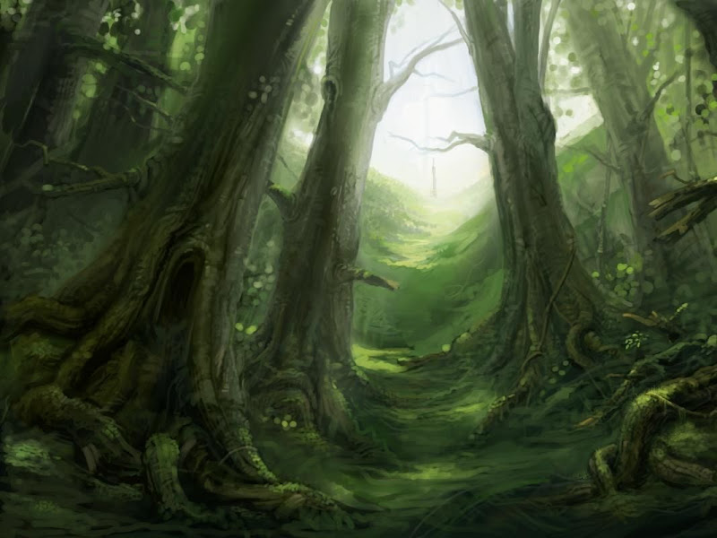 Magick Landscape From Nightmare 5, Magical Landscapes 5