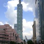 downtown Taipei & Taipei 101 in Taipei, T'ai-pei county, Taiwan