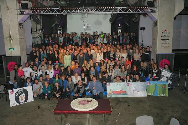 Wszyscy blogerzy na Blog Forum Gdańsk 2013 (fot. Miasto Gdańsk)