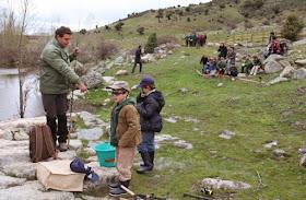 Santa María de la Alameda acoge la primera Escuela de Pesca de la región