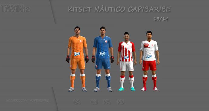 Náutico Kitset 13-14 - PES 2013