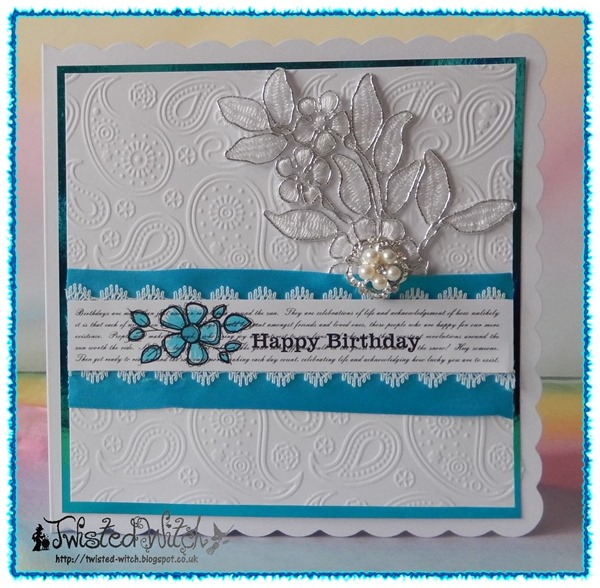 159 Ribbon Lace and Bling