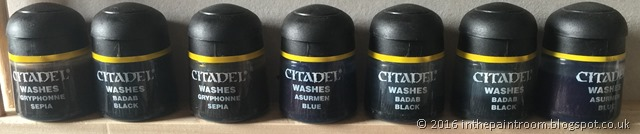 Old Citadel Washes