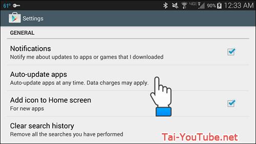 Cách bật hoặc tắt tự động cập nhật ứng dụng Android - Hình 4