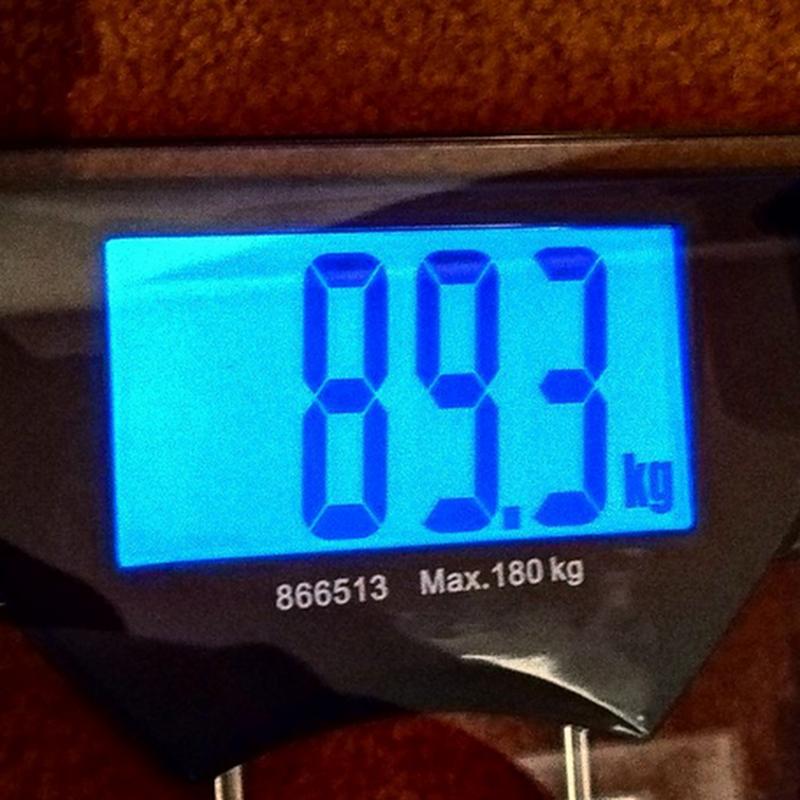 Aku berjaya kurus !