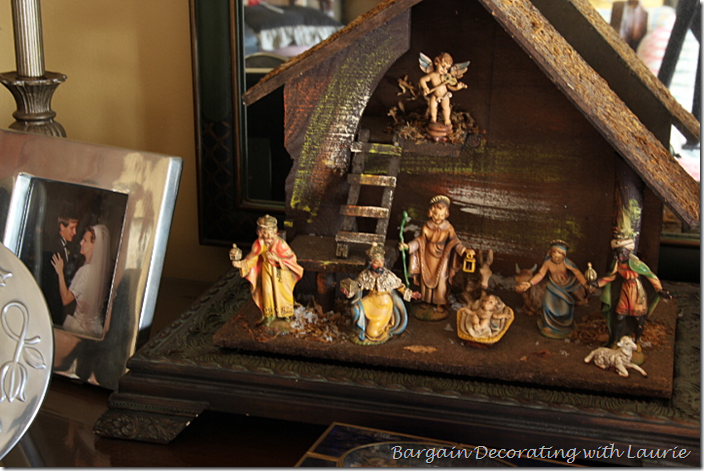 Christmas Nativity in Master Bedroom