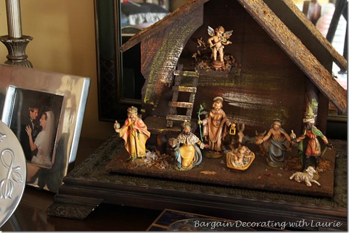 Christmas Nativity in Master Bedroom