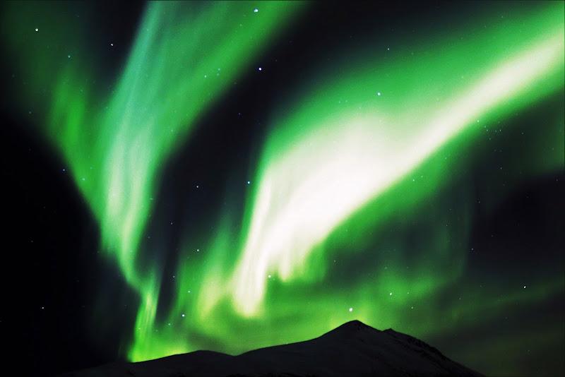 aurora boreale in Norvegia di MONINIK73