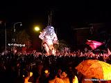 Den största Ogoh-Ogohn av de alla under nyårsfirandet i Ubud, Bali.