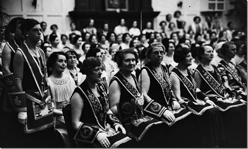 Mujeres Masonas 1937