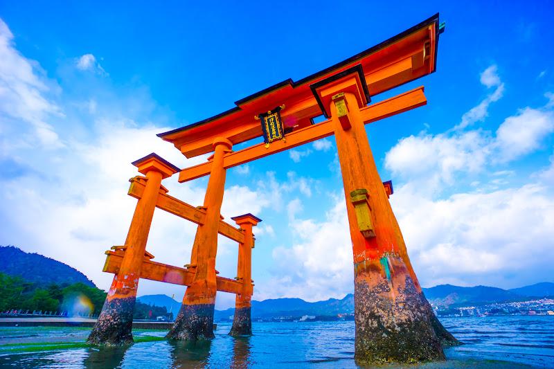 宮島 厳島神社 干潮1
