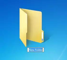 Create a Folder