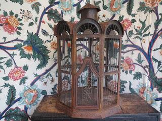 Rustic Bird Cage