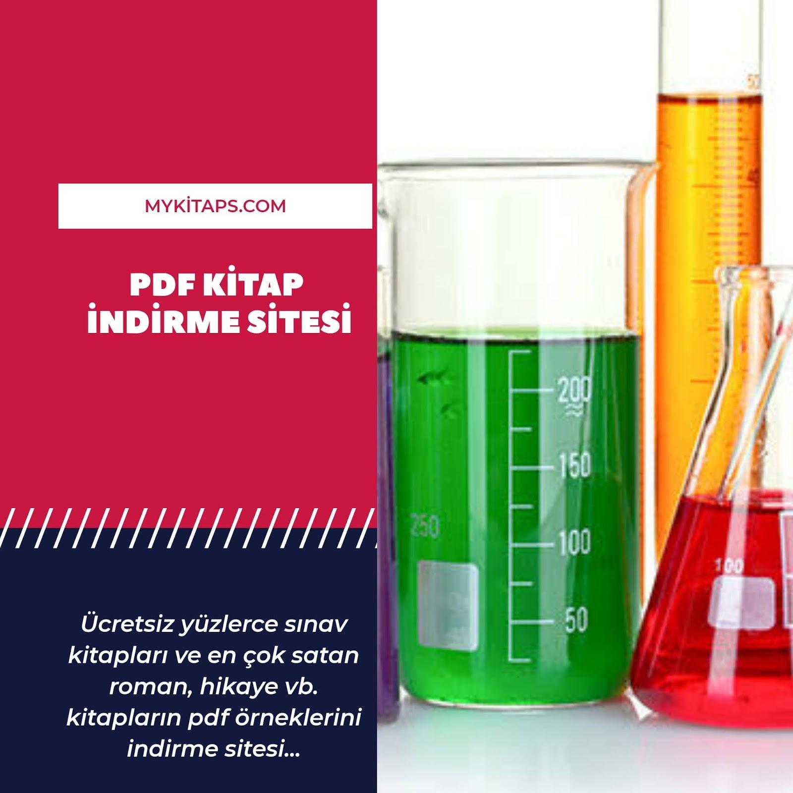 Son 9 yılın çıkmış Kimya Soruları PDF İndir