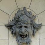 Cascades : mascaron, sculpteur Rodin