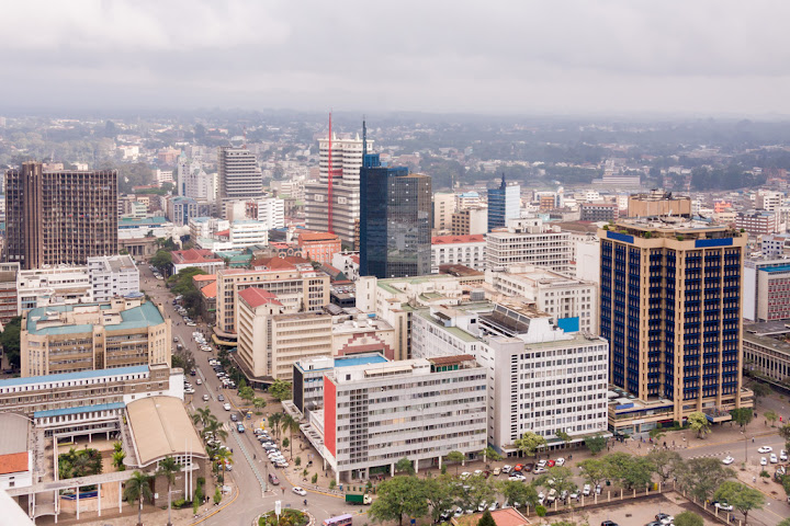 Central Business District, Nairobi, Kenya