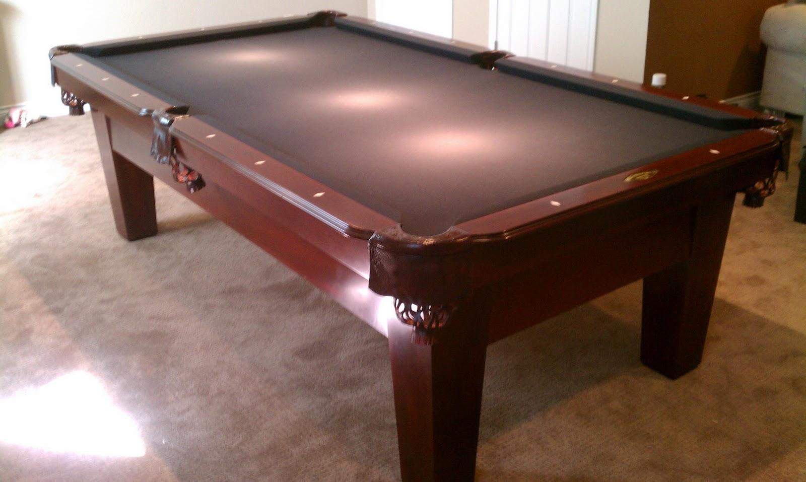Big Break Billiards Proline Billiards Pool Table - Connelly pool table review