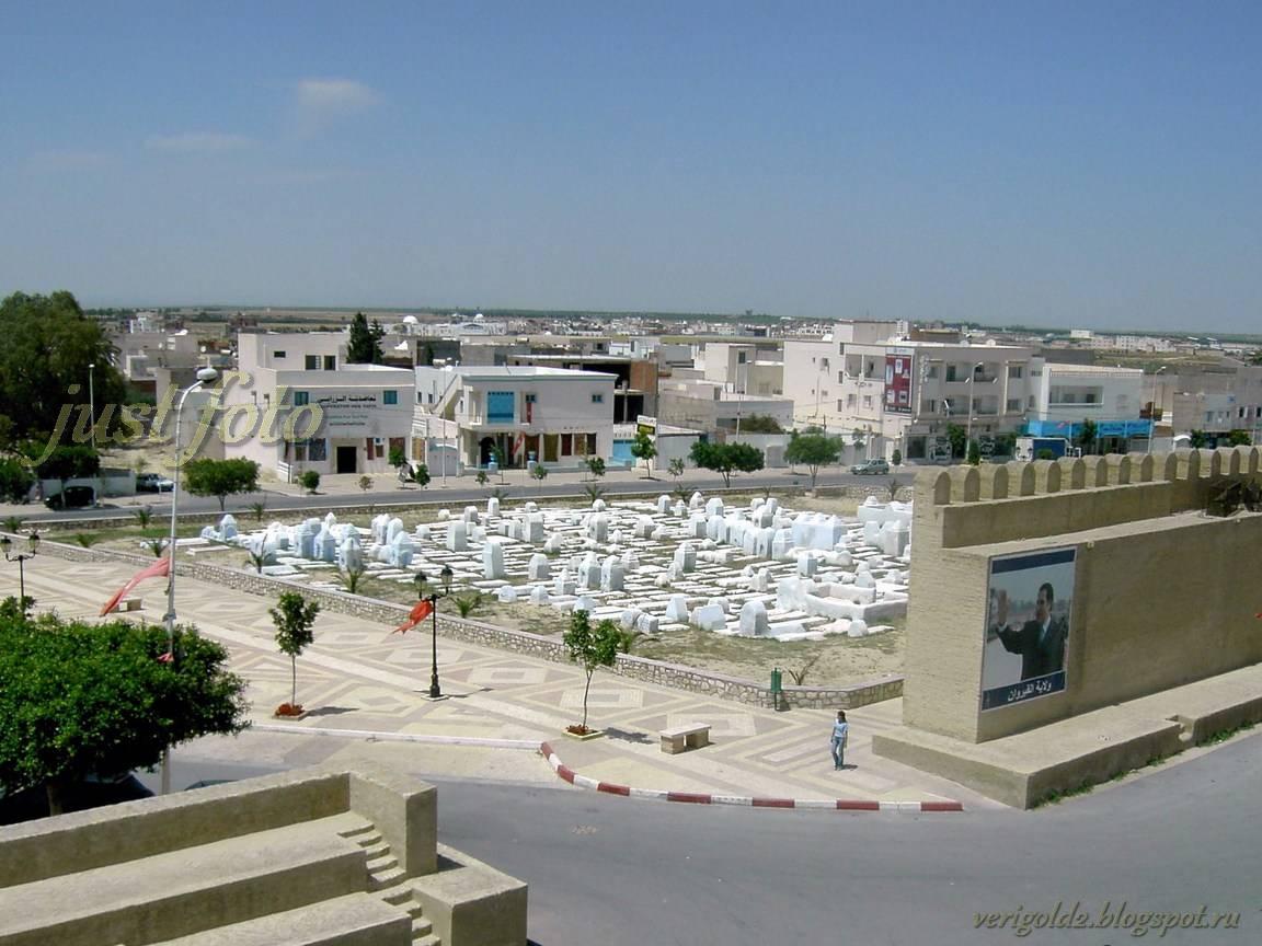 Кайруан мусульманское кладбище фото