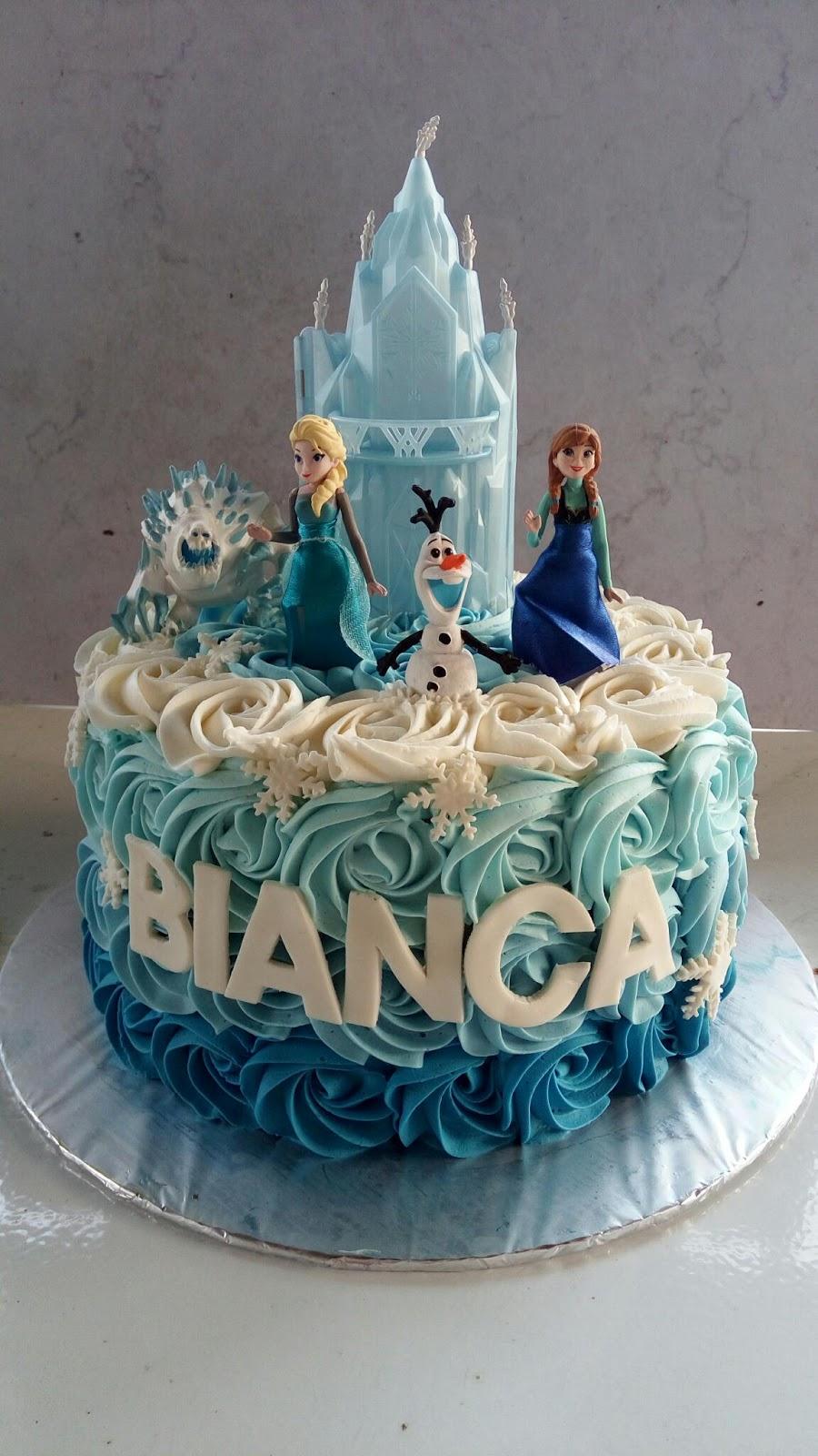 Frozen Cake Birthday Jakarta