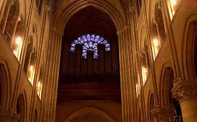The West Rose Window and the Organ