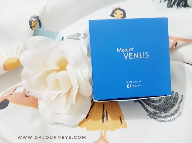 [Review] Loose Powder dari Marcks' Venus