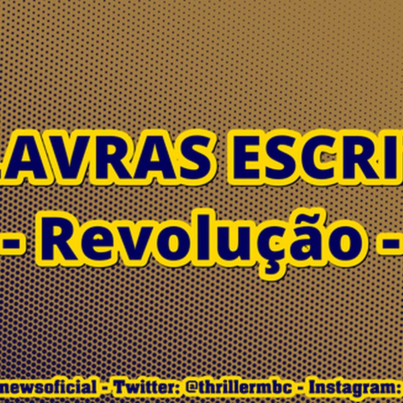 #ESCRITAS : Revolução da libertação