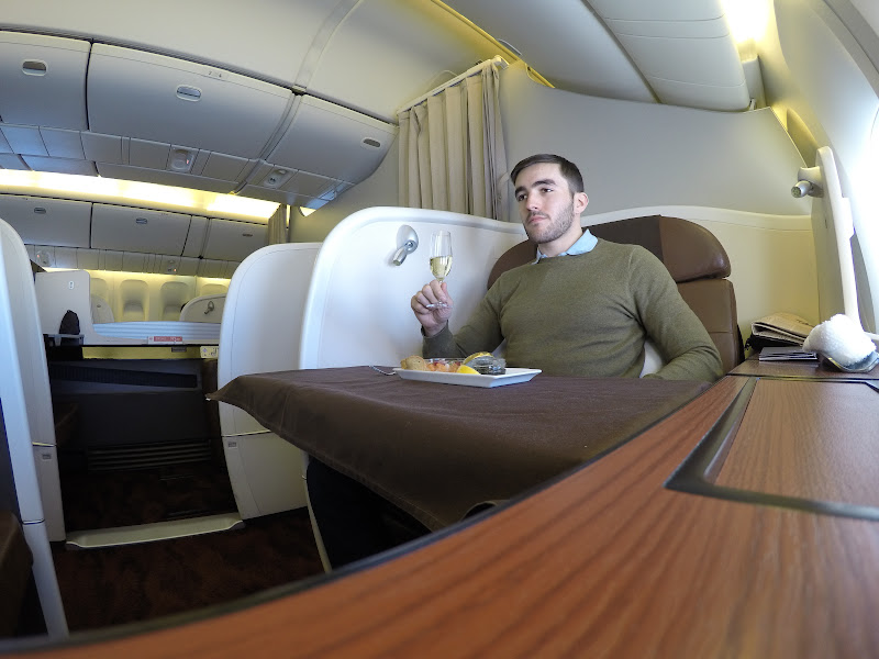 JL%252520F%252520HND LHR 88 - REVIEW - JAL : First Class - Tokyo Haneda to London (B77W)