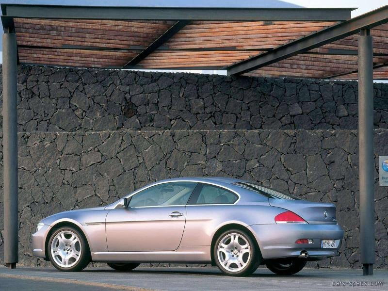 2004 bmw 6 series coupe specifications pictures prices. Black Bedroom Furniture Sets. Home Design Ideas