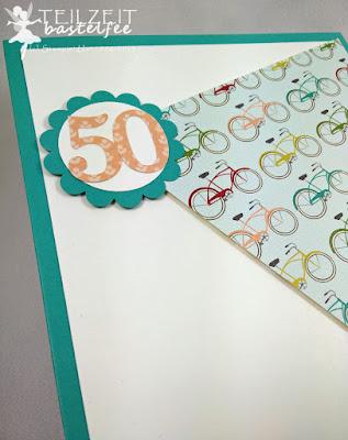 Stampin' Up! - In{k}spire_me #213, Birthday, Geburtstag, Bike, Fahrrad, Alles Gute zum Geburtstag, Sizzlits Junior Alphabet