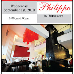 Pillar Reception at Philippe Chow